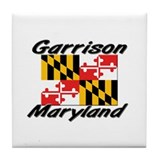 Garrison Maryland Tile Coaster