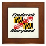 Frederick Maryland Framed Tile