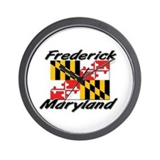 Frederick Maryland Wall Clock