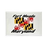 Fort Meade Maryland Rectangle Magnet