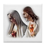 Sacred Hearts Tile Coaster