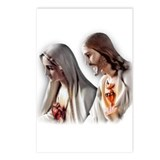 Sacred Hearts Postcards (Package of 8)