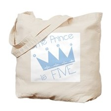 Prince I'm Five Tote Bag