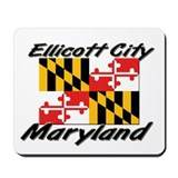 Ellicott City Maryland Mousepad