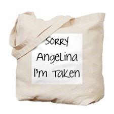 Sorry Angelina...Tote Bag