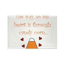 Cute Trick or treat candy Rectangle Magnet