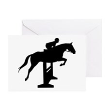 Hunter Jumper Over Fence Greeting Cards (Pk of 10)