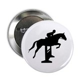 Hunter Jumper Over Fences Button