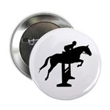 "Hunter Jumper Over Fences 2.25"" Button (10 pack)"