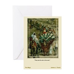 The Magi-Tissot-Greeting Card