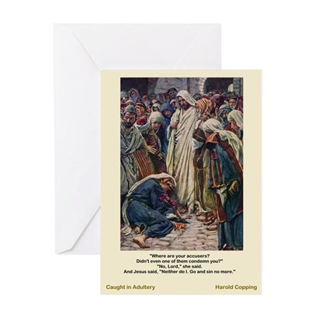 Adultery-Copping-Greeting Card