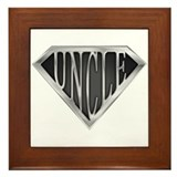 SuperUncle(metal) Framed Tile