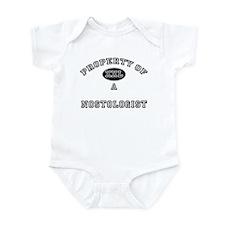 Property of a Nostologist Infant Bodysuit