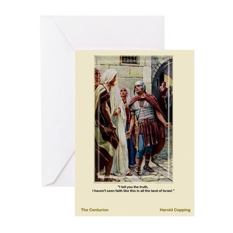 The Centurion-Copping-Greeting Cards (Pk of 10)