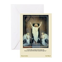 The Resurrection-Bloch-Greeting Cards (Pk of 10)