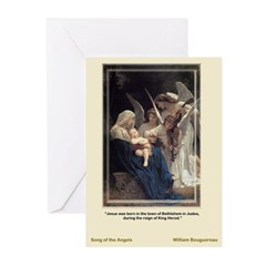 Song of the Angels Greeting Cards (Pk of 10)