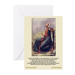 The Annunciation-Copping-Greeting Cards (Pk of 10)