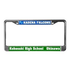 Kadena Falcons License Plate Frame