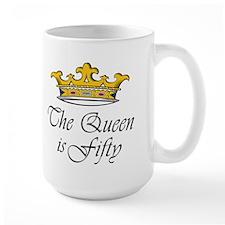 50th birthday gifts woman Mug