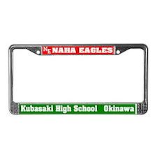 Naha Eagles License Plate Frame
