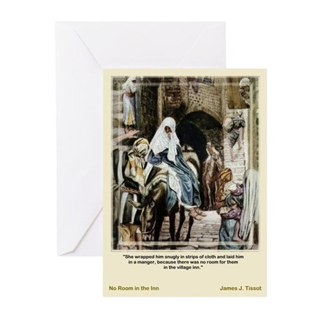 No Room-Tissot-Christmas Cards (Pk of 10)