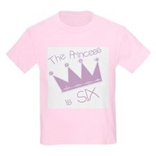 Princess I'm Six T-Shirt