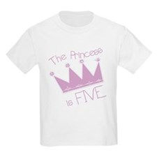 Princess I'm Five T-Shirt