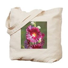 Magenta Flower Tote Bag