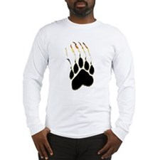 Bear Pride Paw Rip Long Sleeve T-Shirt