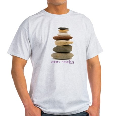 Zen Rocks Light T-Shirt