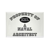 Property of a Naval Architect Rectangle Magnet