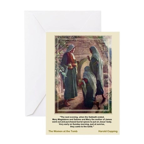 Women at the Tomb-Copping-Greeting Card