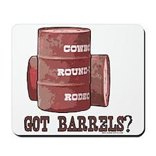 Got Barrels? Western Horse Mousepad