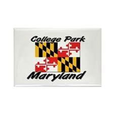 College Park Maryland Rectangle Magnet