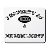 Property of a Musicologist Mousepad