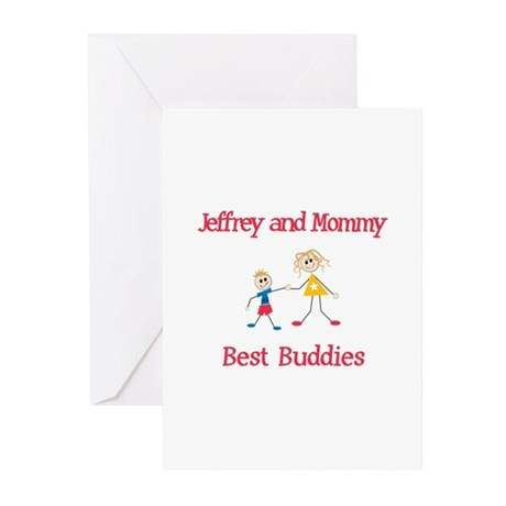 Jeffrey &amp;amp; Mommy - Buddies Greeting Cards (Pk of 10