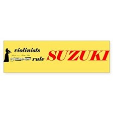 Girl Suzuki Bumper Bumper Sticker