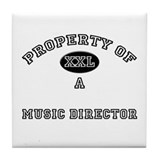 Property of a Music Director Tile Coaster