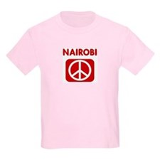 NAIROBI for peace T-Shirt