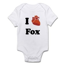 I (Heart) Fox Infant Bodysuit