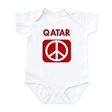 QATAR for peace Infant Bodysuit