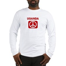 UGANDA for peace Long Sleeve T-Shirt