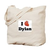 I (Heart) Dylan Tote Bag