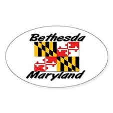 Bethesda Maryland Oval Decal
