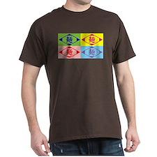 """Pop kanji art """"Ramen"""" - T-Shirt"""