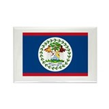 Belizean Flag Rectangle Magnet (100 pack)