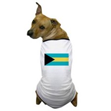 Bahamas Flag Dog T-Shirt