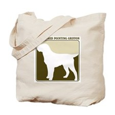Professional Wirehaired Point Tote Bag