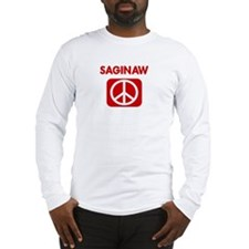 SAGINAW for peace Long Sleeve T-Shirt