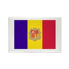 Andorran Flag Rectangle Magnet (100 pack)
